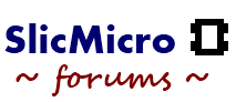 SlicMicro Forums
